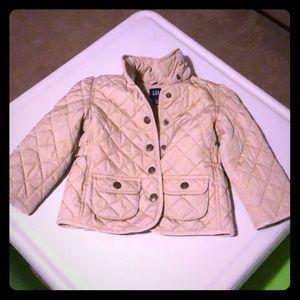 Gap jacket, tan.